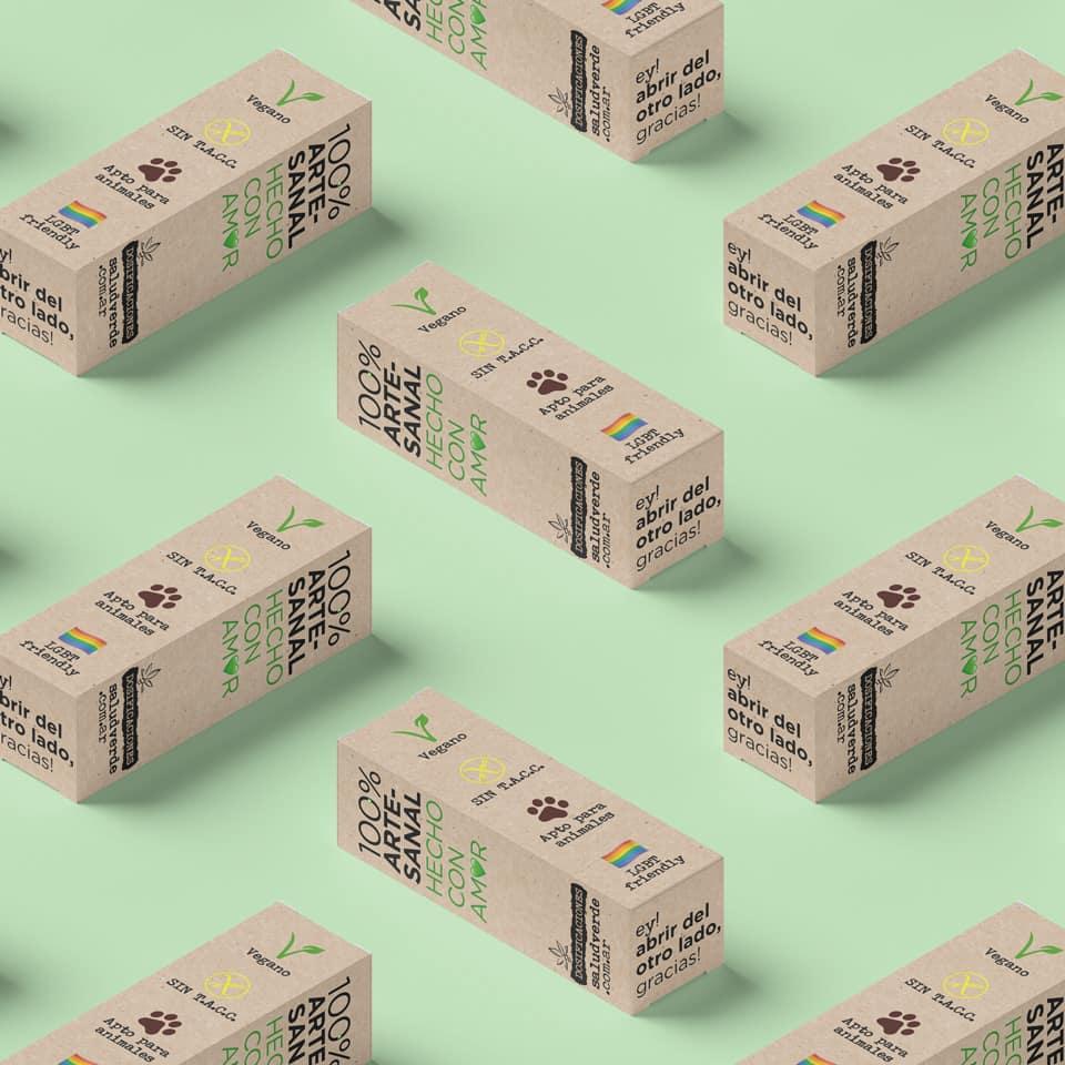 packaging Salud Verde - ideas aD diseño